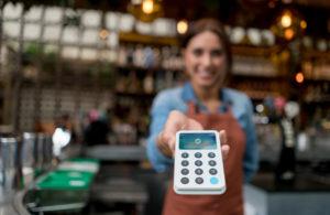 Terminal de paiement mobile sans contact