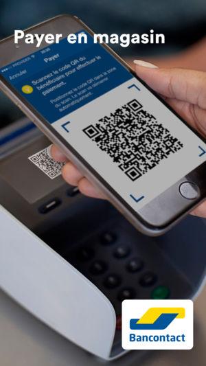 Paiement par Bancontact mobile