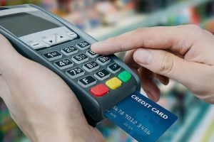 caisse enregistreuse avec terminal de paiement fixe