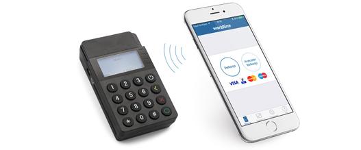 Terminal de paiement sur smartphone